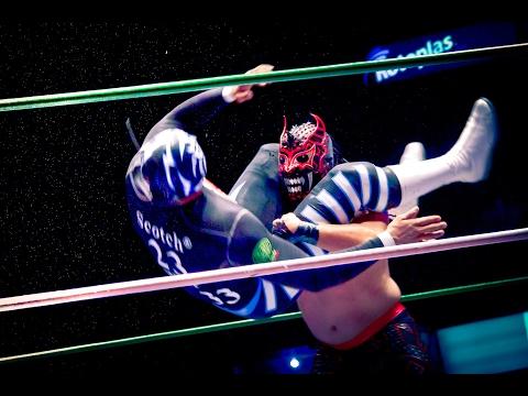 Combat de catch ou lucha libre à Mexico ! streaming vf