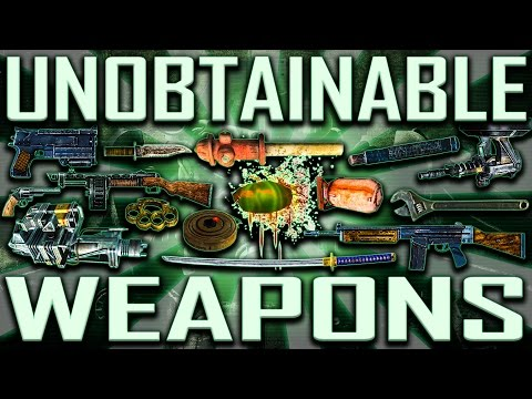 Unobtainable Weapons - Fallout 3 (Includes DLCs)