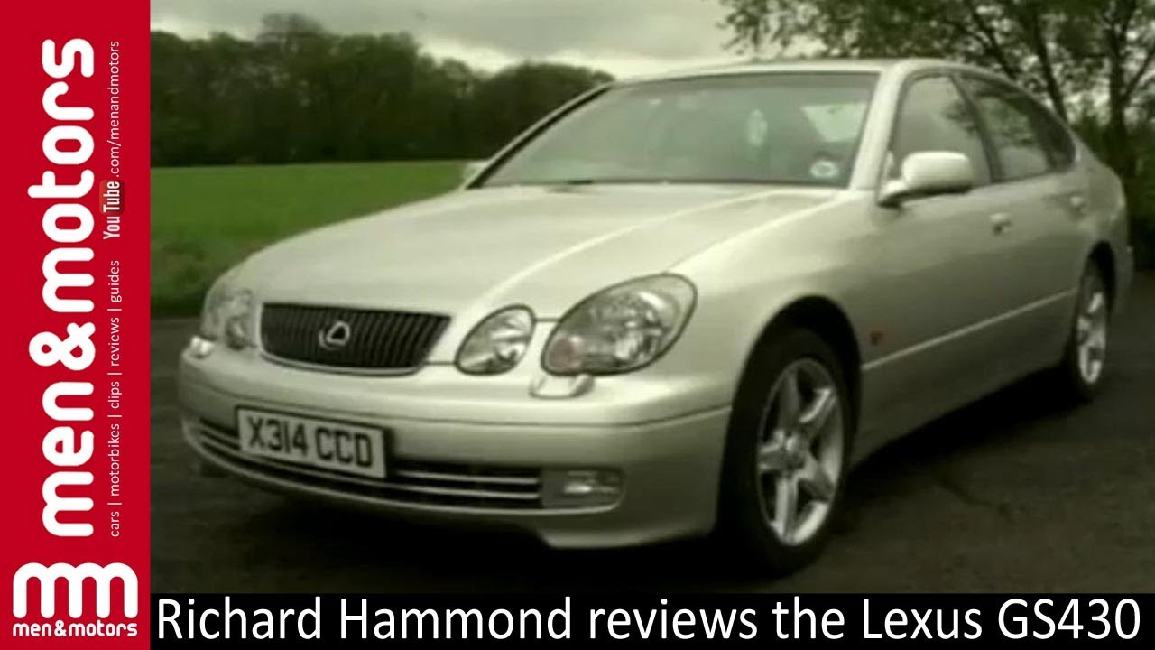 toyota lexus gs430 review with richard hammond 2001. Black Bedroom Furniture Sets. Home Design Ideas