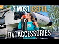 3 Most Useful Accessories for ANY RV  \\  Power, Ventilation and Sewer \\ UPGRADE!