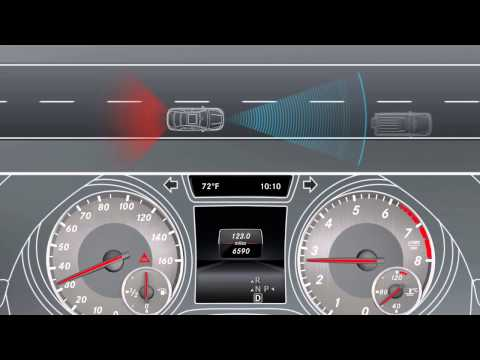 CLA-Class Collision Prevention Assist -- Mercedes-Benz USA Owners Support