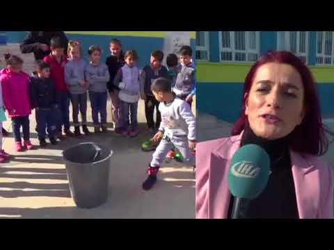 Öğrenciler Oyuncak Silahlarını Çöpe Attı