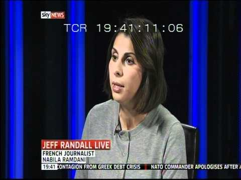 Nabila Ramdani - Sky News Jeff Randall - Strauss-kahn Pimping Affair - 21 February 2012 video