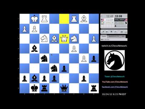 0 - Chess Video   Simultaneous Chess Exhibition w/ Live Commentary #11: 5 Opponents - Chess & Mind Games