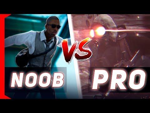 NOOB vs PRO NO BHOP DO CS:GO!