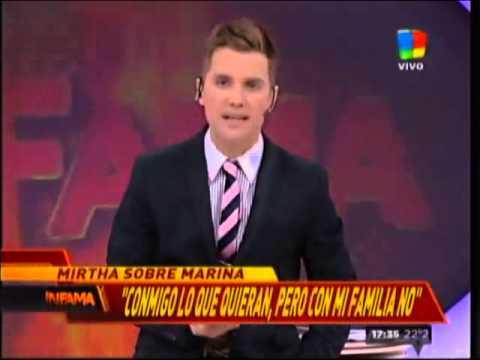 """Marina Calabró: Me duele que Mirtha tenga tan mala memoria"""""""