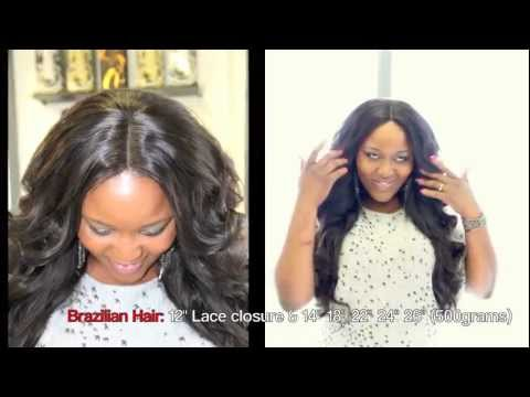 Full Sew In With Sleek Closure (No Leave Out) | How To Make & Do ...