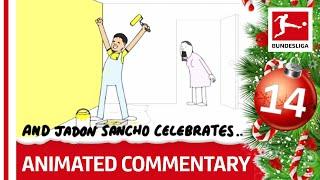Bundesliga Animated Commentary в Powered by Nick Murray Willis в 2019 Bundesliga Advent Calendar 14