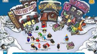 Club Penguin - Back To The Beta Party!
