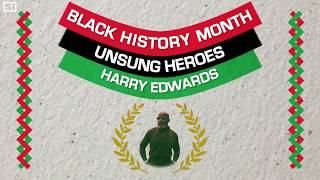 Harry Edwards, One of Sports' Great Activists Black History Month Sports Illustrated