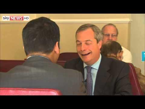 Nigel Farage Sits Down With Faisal Islam