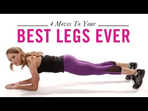4 Moves for Your Best Legs, Ever: Workout with Hannah Davis, Ep. 4