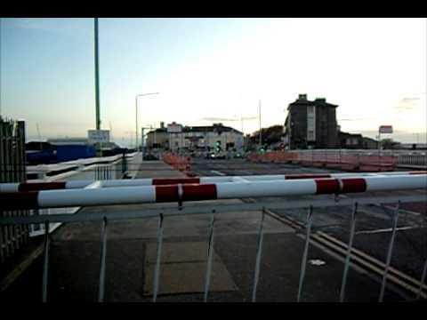 Lowestoft Bascule Bridge Raising