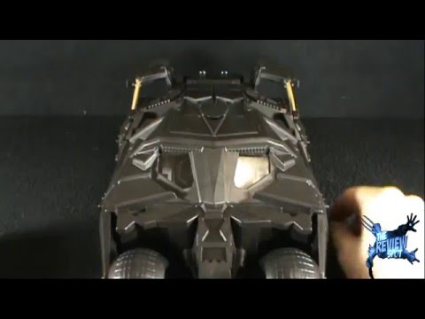 Toy Spot - Mattel The Dark Knight Stealth Launch Batmobile