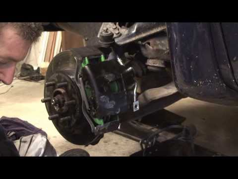 Dodge Dakota - Front Brakes - Pads, Rotors, Calipers and Brake Lines