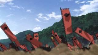 Sengoku Basara Anime Takeda attacks Odawara