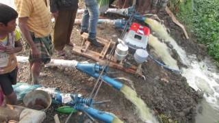 4 Axial Flow Pump Run By One Engine..........