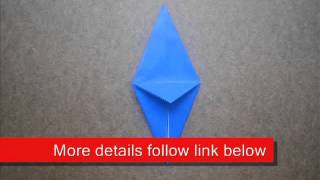 Paper Folding Origami Bird Base