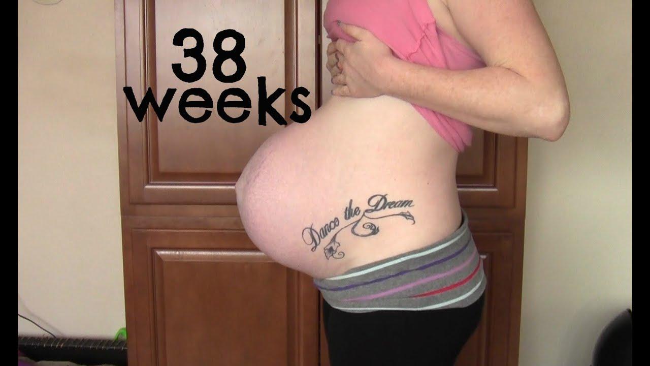 38 weeks nude