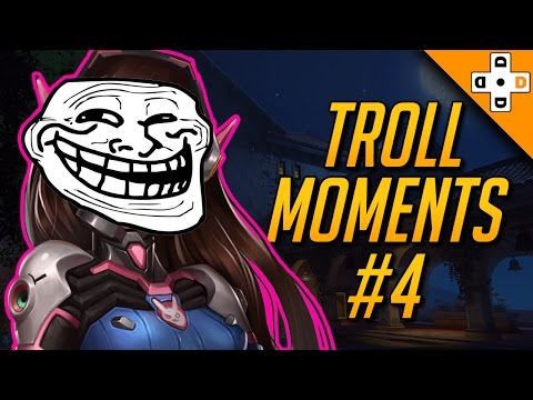 Overwatch Funny Troll Moments #4 | Highlights Montage