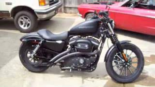 2009 Harley 883 Iron with Bassani Sweepers exhaust