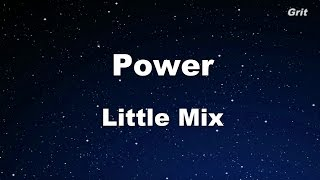Power - Little Mix Karaoke 【With Guide Melody】 Instrumental
