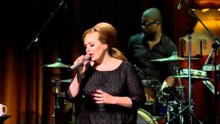 Adele - Lovesong (The Cure cover) Live HD -  Itunes Festival 2011
