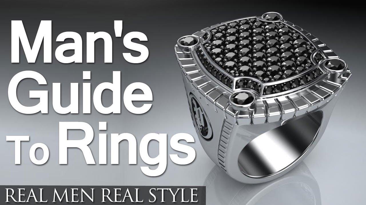 Men s rings a man s guide to rings wedding rings family rings
