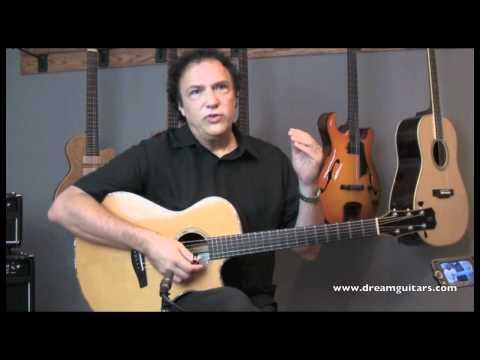 DOUG YOUNG GUITAR LESSON - AMAZING GRACE at DREAM GUITARS part 1