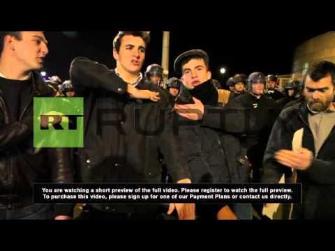 France: Dieudonne fans do the 'quenelle' in protest against ban