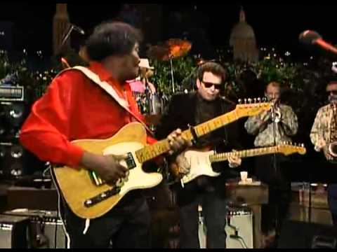 Albert Collins - My Woman Has A Black Cat Bone (HQ)