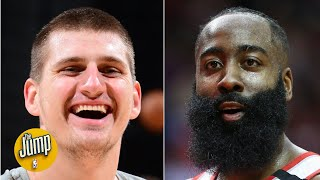 Nikola Jokic flopped so hard, James Harden was complaining about it | The Jump