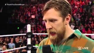 WWE-Daniel Bryan Final 'YES' chant