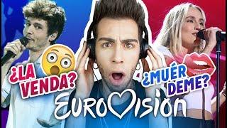 REACCIÓN+TOP 10 CANCIONES COMPLETAS EUROVISION 2019 | MALBERT