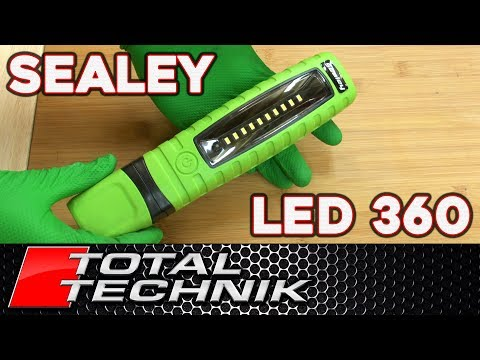 Sealey LED 360 Work Light Review (& Endurance Test) - Total Technik