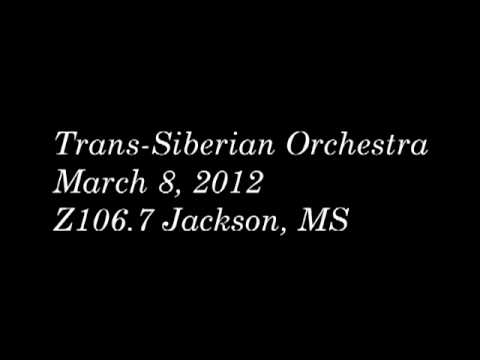 TSO 3-8-2012 Z106.7 Interview + Acoustic Live Radio Trans-Siberian Orchestra