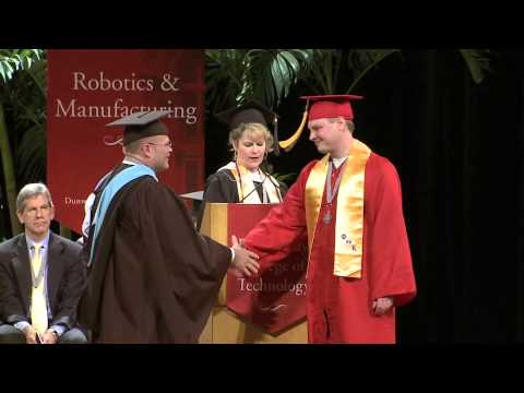 Dunwoody College of Technology 2014 Commencement