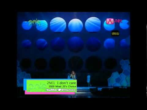 20's Choice Legend 2009 2ne1 video