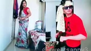 Hare krishna hare raam:: funny video made by musically