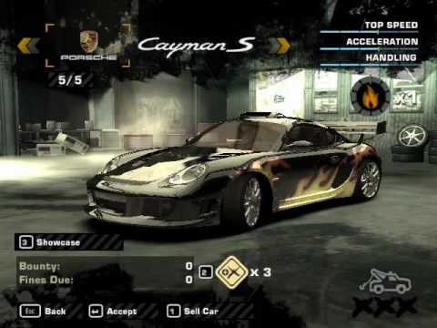 need for speed most wanted-los 15 autos de los rivales