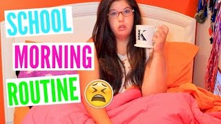 School Morning Routine 2015! + Tips for being a Morning Person!