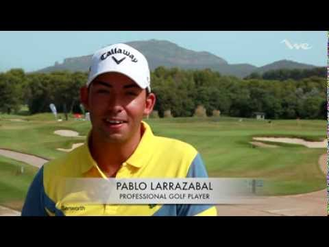 WeBarcelona.com / Pablo Larrazabal, Clinic de golf Barcelona