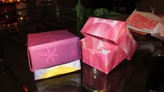 Gift Box 25 Days Of Origami Day 13