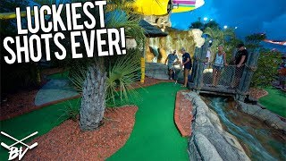 I CAN'T BELIEVE YOU GOT THAT MINI GOLF HOLE IN ONE!