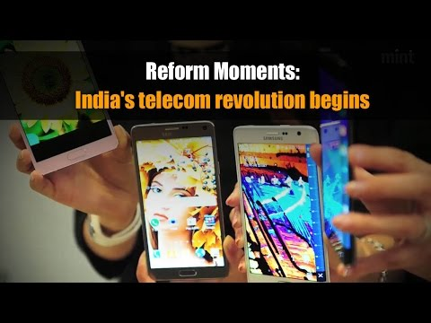 Reform Moments | India's telecom revolution begins