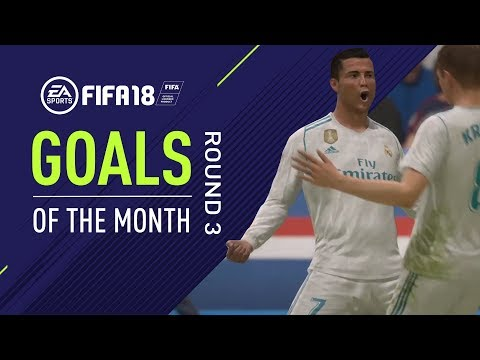 FIFA 18 | Goals of the Month | Round 3