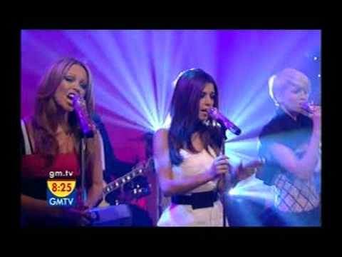 Girls Aloud - The Loving Kind [gmtv - 18.12.2008] video