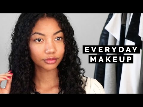 MY GLOWY 'NO MAKEUP' MAKEUP ROUTINE (NO FOUNDATION)