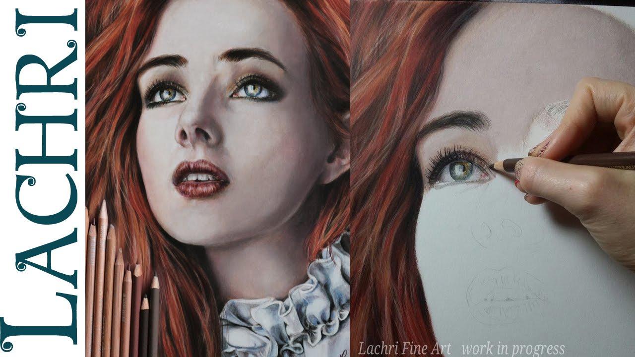 Colored Pencil Portrait Tutorial Pencil Portrait Tutorial