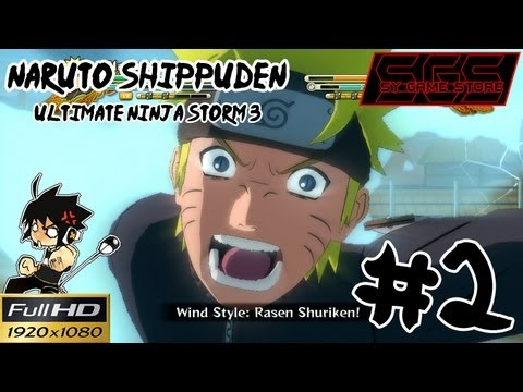 Naruto Shippuden Ninja Storm 3 Full HD [Pt2] : สายลมแห่งวีบุรุษ ที่ถูกพัดอีกครั้ง